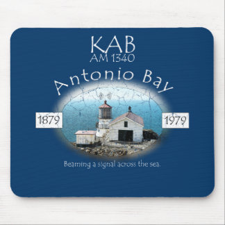 KAB AM 1340 Antonio Bay Radio Mouse Pad