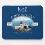 KAB AM 1340 Antonio Bay Radio Mousepad