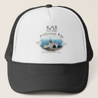 KAB AM 1340 Antonio Bay Radio Trucker Hat