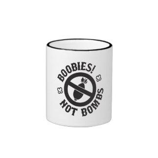 KAB Boobies Not Bombs Mug