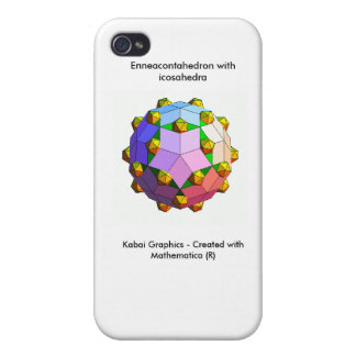 Kabai Graphics - Created with Mathematica (R) Case For iPhone 4