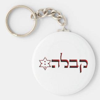 Kabbalah Basic Round Button Keychain