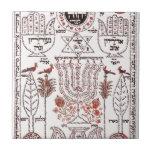 Kabbalah Design Ceramic Tile