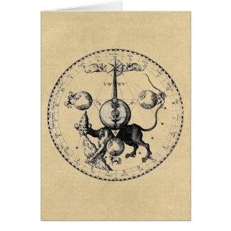 Kabbalah mandala card