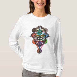 Kabbalistic Tree of Life/Hamsa T-Shirt