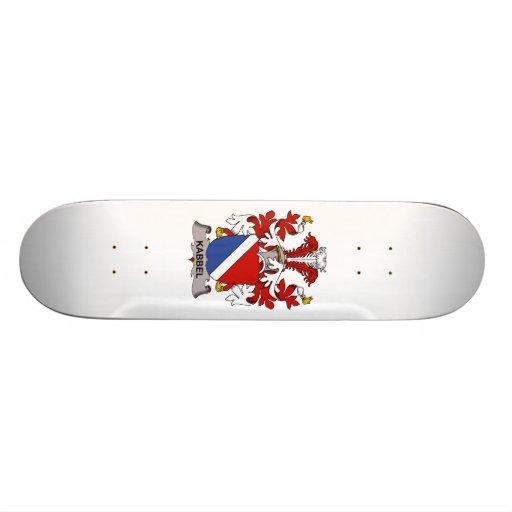 Kabbel Family Crest Skate Deck