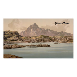 Kabelvaag, Nord-Norge, Norway Business Card Templates
