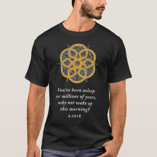 Kabir Quotation Persian Mandala T-Shirt