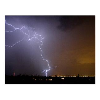 Kablam - When Lightning Strikes Postcard