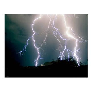 Kablam - When Lightning Strikes Vail Postcard