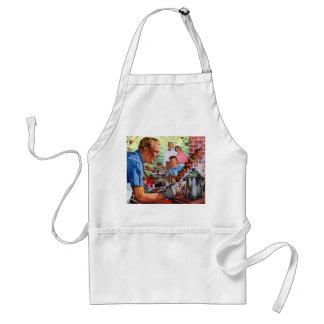 kabob adult apron