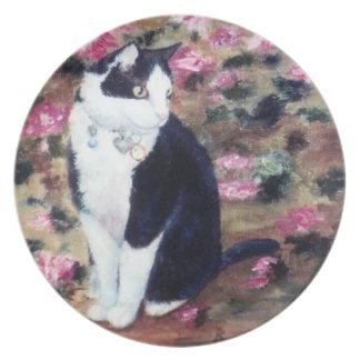 Kaboodles Cat Plate