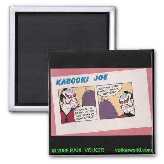 Kabooki Joe $3.00 2 Inch Square Magnet