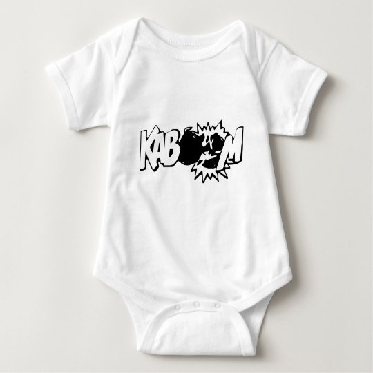 Kaboom! 3 baby bodysuit