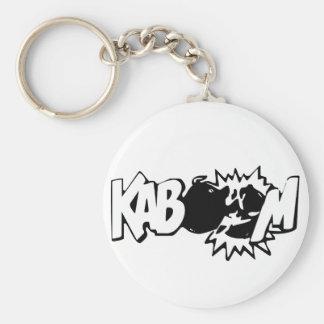 Kaboom! 3 Keychain