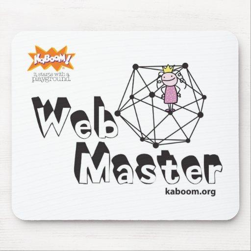 ¡KaBOOM! Amo del Web Alfombrillas De Ratón