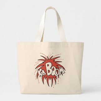 Kaboom! Canvas Bags
