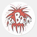 ¡Kaboom! Etiquetas