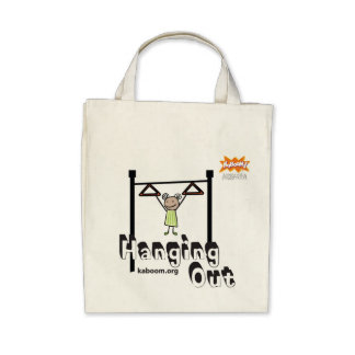 KaBOOM! Hanging Out Tote Bags
