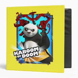 Kaboom of Doom 3 Ring Binder