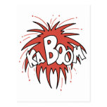 ¡Kaboom! Postales