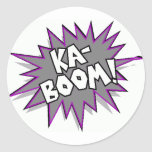 kaboom! stickers
