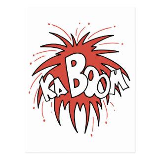 ¡Kaboom! Tarjeta Postal
