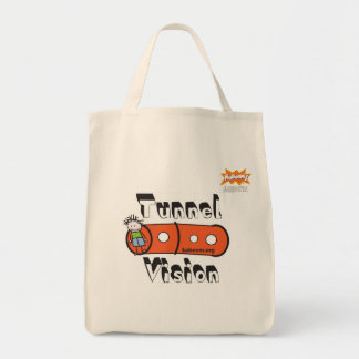KaBOOM! Tunnel Vision Tote Bags