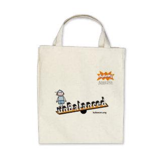 KaBOOM! Unbalanced Tote Bags