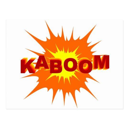 kaboom_Vector_Clipart Postcard