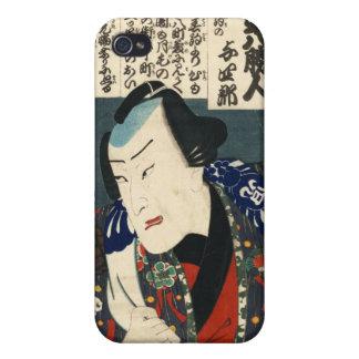 Kabuki Actor by Kunisada Utagawa iPhone 4 Case