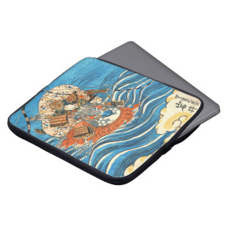 Kabuki Actor Iwai Shijaku 1830 Laptop Computer Sleeve