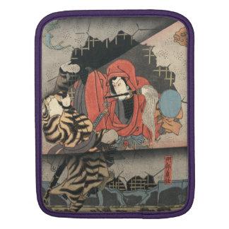 Kabuki Actors Triptych 1847 iPad Sleeves