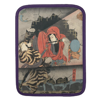 Kabuki Actors Triptych 1847 Sleeve For iPads