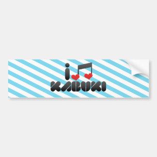 Kabuki Bumper Sticker