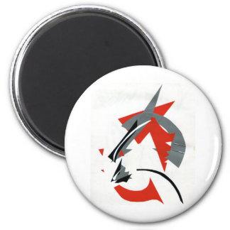 Kabuki Catzen 2 Inch Round Magnet