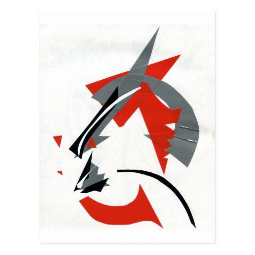 Kabuki Catzen Postales