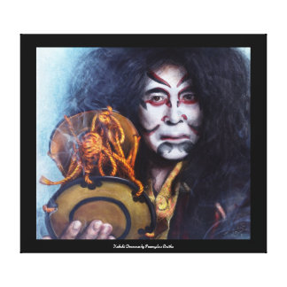 Kabuki Drummer canvas print