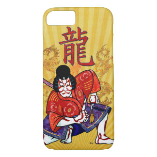 Kabuki Japanese Actor Folk Art iPhone 8/7 Case