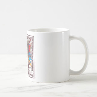 Kabuki Mask Coffee Mug
