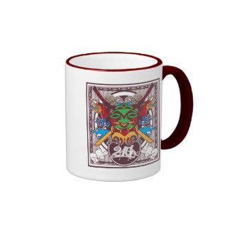 Kabuki Mask Coffee Mugs