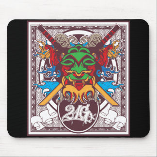 Kabuki Mask Mouse Pad