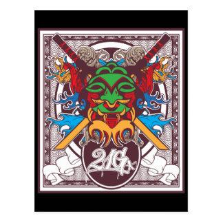 Kabuki Mask Postcards