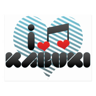 Kabuki Postcard