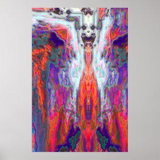 Kabuki's Ascent Poster