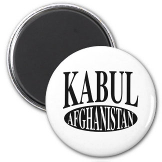 Kabul Afghanistan 2 Inch Round Magnet