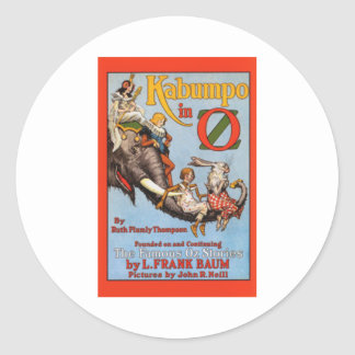 Kabumpo In Oz Classic Round Sticker