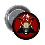 Kabuto negro (casco del samurai) pins