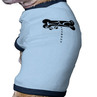 KaC Bone Doggy Tee Doggie Tee Shirt