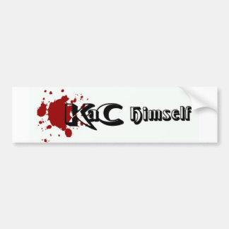 KaC Himself Logo Bump Car Bumper Sticker